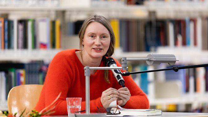 Reading by Kristine Bilkau