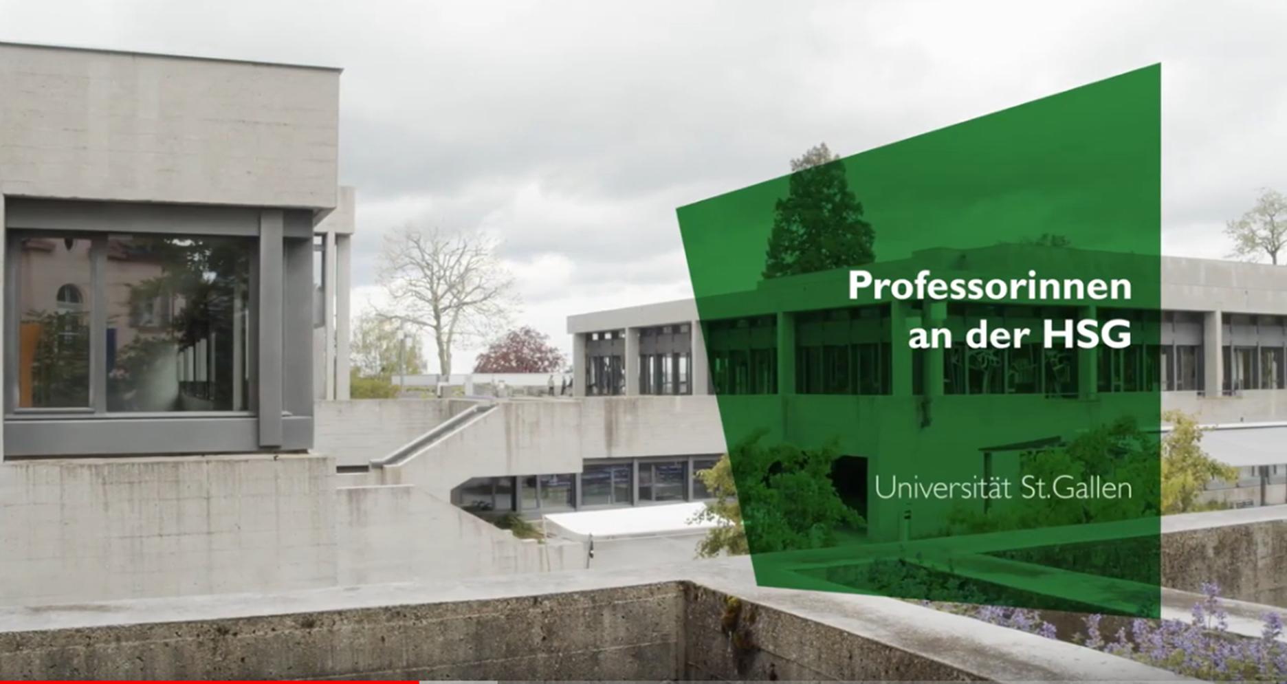 Videovorschau Titelbild HSG Professorinnen